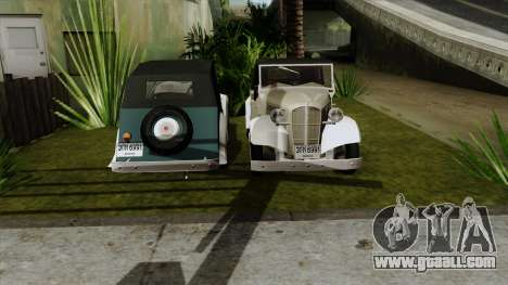 Datsun Sports DC-3 for GTA San Andreas back left view