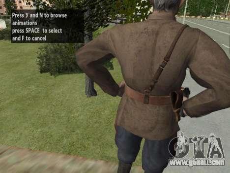 Commissioner Markov for GTA San Andreas seventh screenshot