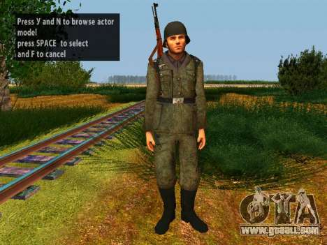 German soldiers for GTA San Andreas