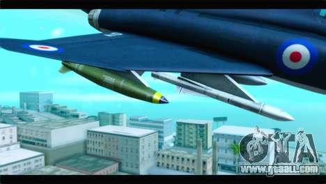 McDonnell Douglas F-4E RAF for GTA San Andreas