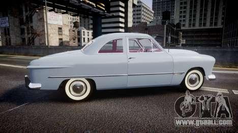 Ford Custom Club 1949 v2.2 for GTA 4 left view