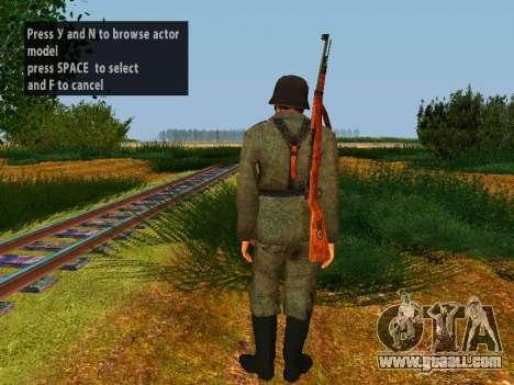 German soldiers for GTA San Andreas seventh screenshot