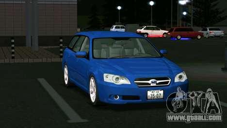 Subaru Legacy Touring Wagon 2003 for GTA San Andreas left view
