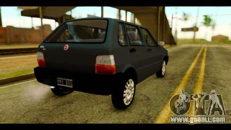 Fiat Uno Fire Mille for GTA San Andreas left view