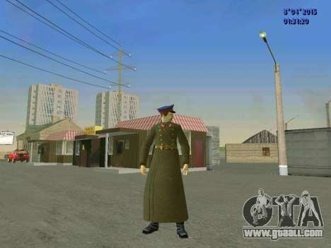 Felix Edmundovich Dzerzhinsky for GTA San Andreas second screenshot