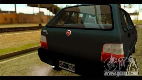 Fiat Uno Fire Mille for GTA San Andreas right view