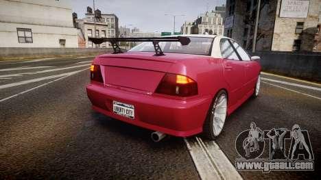 Dinka Chavos SXX for GTA 4 back left view