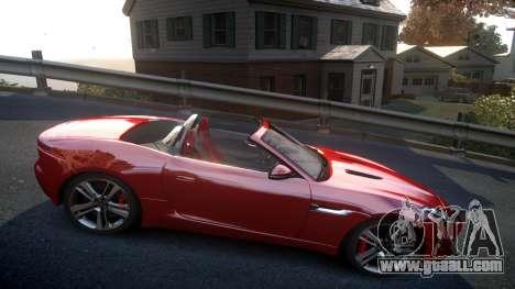 Jaguar F-Type v1.6 Release [EPM] for GTA 4 back view