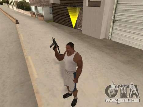 Russian submachine guns for GTA San Andreas