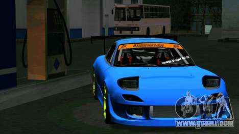 Mazda RX-7 FD3S Vertex for GTA San Andreas back left view