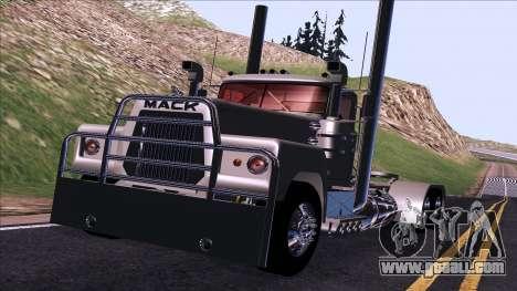 Mack RS700 Custom for GTA San Andreas