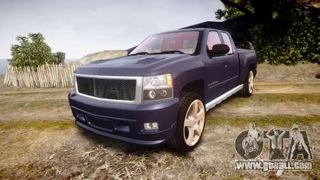 Chevrolet Silverado 1500 LT Extended Cab wheels2 for GTA 4