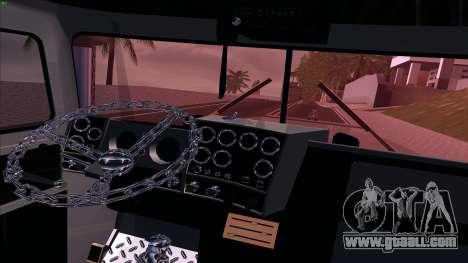 Mack RS700 Custom for GTA San Andreas inner view