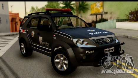 Toyota Hilux SW4 2009 ROTA for GTA San Andreas