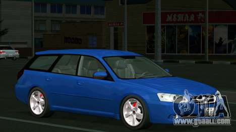 Subaru Legacy Touring Wagon 2003 for GTA San Andreas inner view