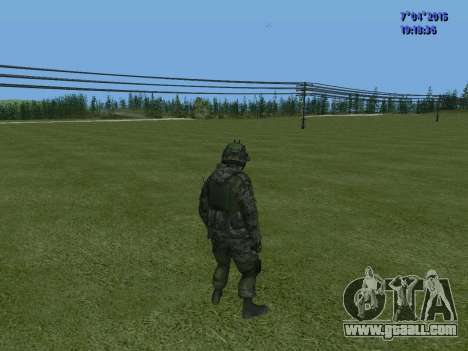 SWAT for GTA San Andreas sixth screenshot