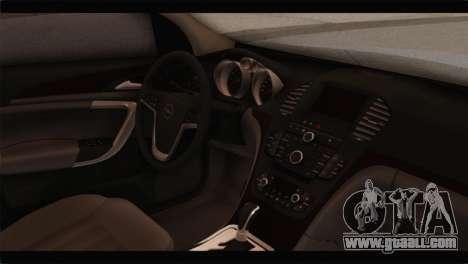 Opel Insignia Wagon for GTA San Andreas right view