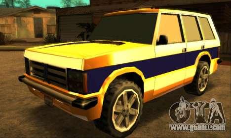 Luni Huntley for GTA San Andreas
