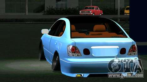 Toyota Aristo for GTA San Andreas back left view