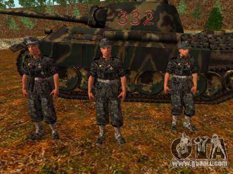 German tank commander for GTA San Andreas second screenshot