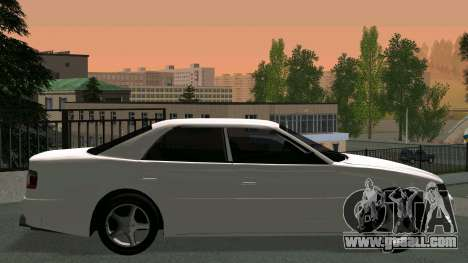 Toyota Chaser for GTA San Andreas inner view