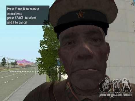 Commissioner Markov for GTA San Andreas sixth screenshot
