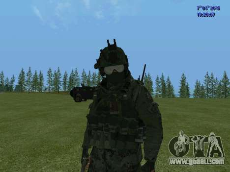 SWAT for GTA San Andreas ninth screenshot