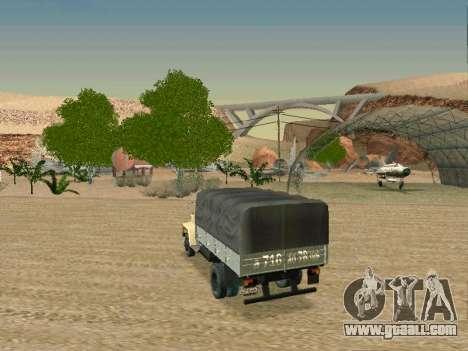 GAZ 3309 for GTA San Andreas upper view