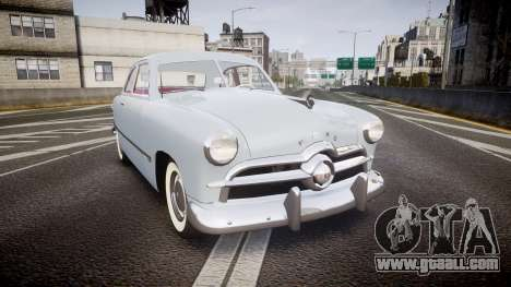 Ford Custom Club 1949 v2.2 for GTA 4