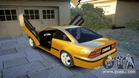 Opel Calibra v2 for GTA 4 side view