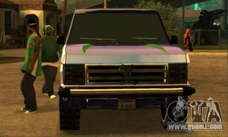 Luni Huntley for GTA San Andreas wheels