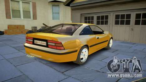 Opel Calibra v2 for GTA 4 back view
