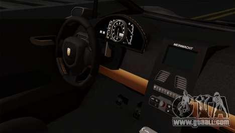 GTA 5 Pegassi Zentorno SA Style for GTA San Andreas right view