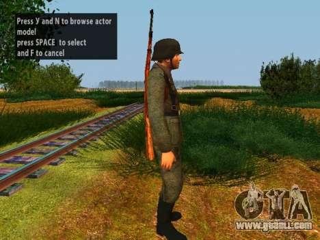 German soldiers for GTA San Andreas sixth screenshot