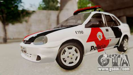 Chevrolet Corsa 2000 PMESP for GTA San Andreas