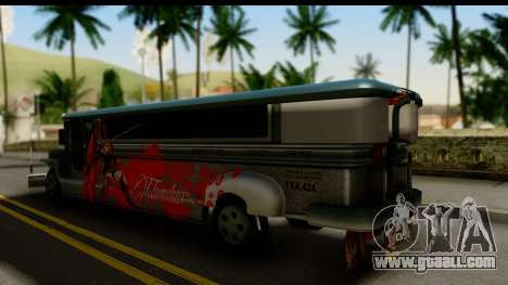 Patok Jeepney for GTA San Andreas left view