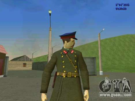 Felix Edmundovich Dzerzhinsky for GTA San Andreas third screenshot
