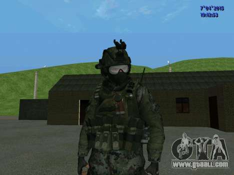 SWAT for GTA San Andreas second screenshot