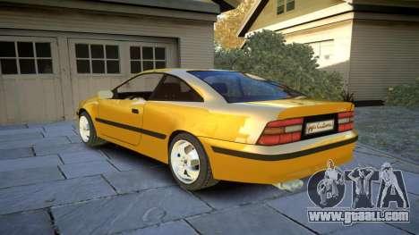 Opel Calibra v2 for GTA 4 back left view