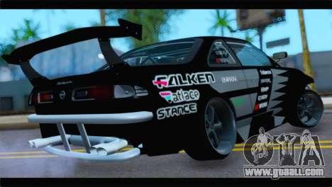 Nissan Silvia S14 Zenki Falken for GTA San Andreas left view