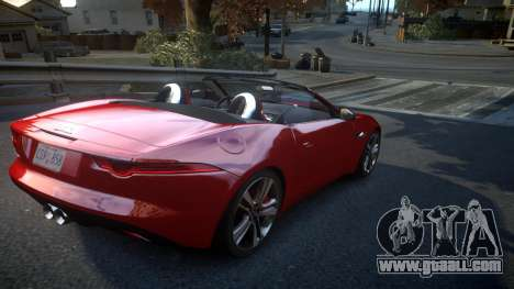 Jaguar F-Type v1.6 Release [EPM] for GTA 4 right view