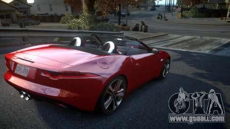 Jaguar F-Type v1.6 Release [EPM] for GTA 4 right view