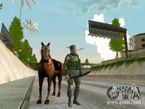 Shashka Cossack for GTA San Andreas