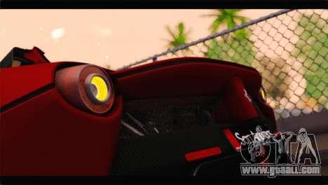 Ferrari LaFerrari 2014 for GTA San Andreas side view