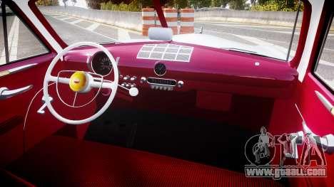 Ford Custom Club 1949 v2.2 for GTA 4 back view