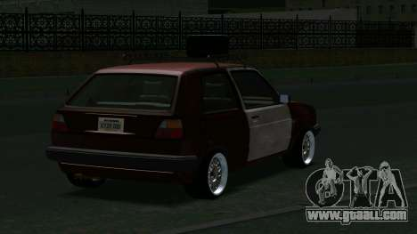 Volkswagen Golf II Rat Style for GTA San Andreas right view