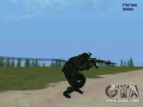 SWAT for GTA San Andreas fifth screenshot