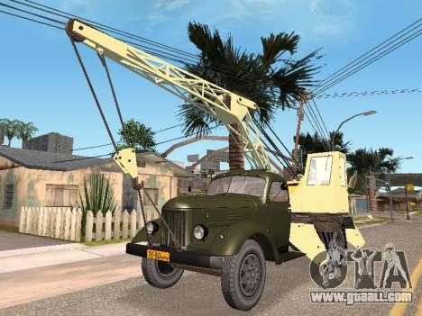 ZIL K for GTA San Andreas