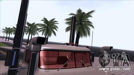 Mack RS700 Custom for GTA San Andreas upper view