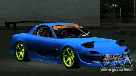 Mazda RX-7 FD3S Vertex for GTA San Andreas